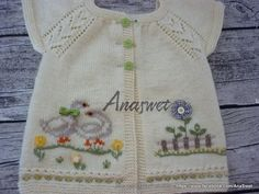 You can do this from your colorful cardigan models for your baby. Free Baby Blanket Patterns, Baby Knitting Patterns, Knitting Stitches, Baby Patterns, Hand Knitting, Cardigan Bebe, Baby Cardigan, Summer Cardigan, Baby Afghan Crochet
