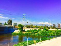 Los Angeles river at full capacity!!!