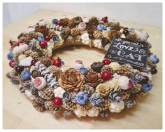 Autumn wreath - All you need is Love & Cat