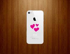 Three Pink Hearts for Smartphone Symbol Vinyl Car Sticker Silhouette Keypad Track Pad Decal Laptop Skin Ipad Macbook Window Truck Motorcycle SSC inc. http://www.amazon.com/dp/B00LNIHLWI/ref=cm_sw_r_pi_dp_QxAVtb1N0GGG5DW5