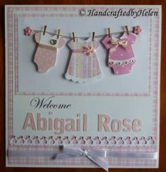 Handcrafted by Helen: Welcome Abigail Rose