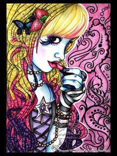 Pride by megoboom on DeviantArt Coldplay, Intermediate Colors, Ballpoint Pen Art, Humanoid Creatures, Pink Carnations, All Themes, Wonderful Picture, Pin Art, Pop Surrealism