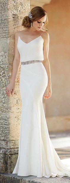 22 Melhores Imagens De Noivas Simples Vestidos Noivas