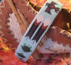 Excited to share the latest addition to my #etsy shop: BEADED HEADBAND - Indian Beadwork Art - Native American Pow Wow Regalia - 1.25 inches wide - 16 inches long - Red Leather - Metal Frame http://etsy.me/2BXArYi #accessories #hair #headband #blue #birthday #independe