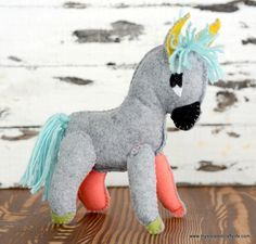 donkey plush diy
