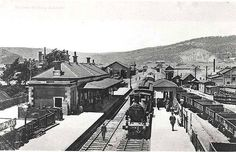 Eskbank Railway Station. Dated: c. 31/12/1900 Digital ID: 17420_a014_a014000756 Rights: www.records.nsw.gov.au/about-us/rights-and-permissions