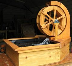How to of water wheel electricity www.WaterWheelPlace.com...