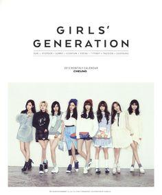 Girls-Generation-SNSD-2015  From left to right. Yuri, Hyoyeon, Sunny, Seohyun, Yoona, Tiffany, Tae-yeon and Su-Yeong.