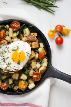Potato and Herb Breakfast Hash – A Happy Healthy Heart Healthy Heart, Happy Healthy, Vegan Gluten Free, Vegan Vegetarian, Breakfast Hash, Cherry Tomatoes, Spinach, Potatoes, Herbs