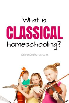 Are you researching homeschool methods, trying to find the best fit for your family? Let's talk about the advantages and disadvantages of classical homeschooling, and some of the most helpful resources. Homeschool Kindergarten, Homeschool Curriculum, Preschool, Homeschooling Resources, Online Music Lessons, Music Lessons For Kids, Teacher Education, Teacher Resources, Classical Education