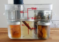Once you know how to make sous vide infusions, you can easily create infused alcohol, vinegar, and oil at home with minimal amounts of effort. - Amazing Food Made Easy