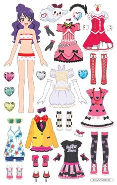 1번째 이미지 Paper Doll Costume, Barbie Paper Dolls, Vintage Paper Dolls, Paper Dolls Clothing, Doll Clothes, Paper Tea Cups, Anime Crafts, Diy And Crafts, Paper Crafts