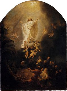 Rembrandts 'The Ascension of Christ'