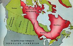 Canadian Geography - Geography of Canada - The Canadian Shield