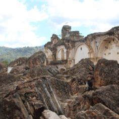 This is another view of the La Recolección church.  Destroyed in 1773.