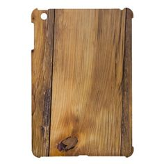 Faux Finished Barn Wood iPad Mini Case - $40
