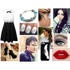 Skylar by haley13wolf on Polyvore featuring Valentino and Charming Kicks