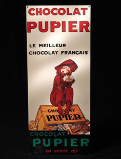 poster - Cemoi Chocalate -pupier