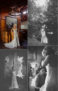 Rustic Bridal Portraits|Evoking You love the feeling of these shots, really powerful