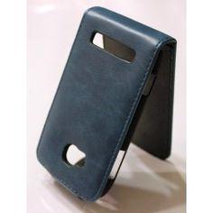 Nokia Lumia 710 sininen nahkainen läppäkotelo. Lumia 710