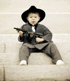 Don't play mind games with your children.. they may turn to a life of Tommy-gun totin' cigar smokin' gangsterizm...