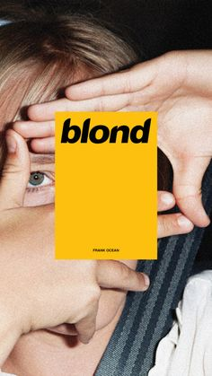 "I like the pop of color and the structure the rectangle gives to the cover. I also like the spacing between ""blond"" and the smaller text. It doesn't feel empty."