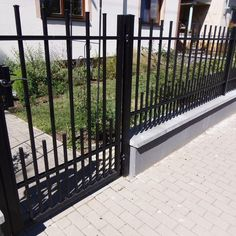 Kovaný plot - realizace Brno