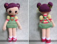 Cookie the Amigurumi - Girl Free Pattern