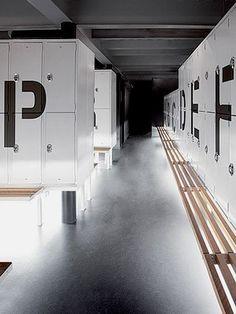 locker room interior design - Google Search