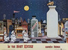 """""""In the Night Kitchen"""" is one of my favorite books, discovered long after my childhood"""