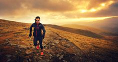 Robbie Britton training in the Lake District, UK, this winter. Photo by James Appleton #inov8team