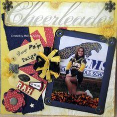 Cheerleader - Scrapbook.com