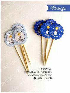 Toppers / El Principito / www.facebook.com/lorenza.diseno