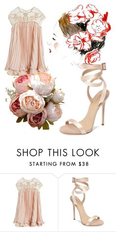 """""""Untitled #2304"""" by bellagioia ❤ liked on Polyvore featuring WithChic and Giuseppe Zanotti"""