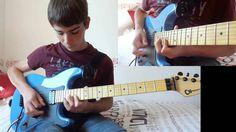 Lynyrd Skynyrd - Free Bird solo with 2 guitars (cover)