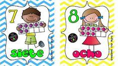 PARA IMPRIMIR: Tarjetas de números para enseñanza