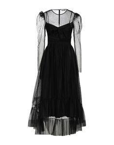 Tulle Bows, Tulle Dress, Robes Midi, Black Midi Dress, Hemline, Long Sleeve, Polka Dot, Outfits, Round Collar