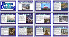 and History Teaching Resource - The Story of Grace Darling printable classroom display posters for primary schools Primary Teaching, Teaching Aids, Teaching History, Primary School, Teaching Resources, Seaside Theme, Sea Theme, Lighthouse Keepers Lunch, Instant Display