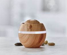 Diffuse a herbal, floral, sugary or fruity lasting fragrance in your favourite room with this handmade aroma diffuser featuring a natural and rich wood colour. Mix your oil or home fragrance of choice with water to create a relaxing ambiance. The diffuser Aroma Diffuser, Essential Oil Diffuser, Essential Oils, Kitchen Store, Home Fragrances, Holiday Gift Guide, Wood Colors, Home And Living, Decorative Items