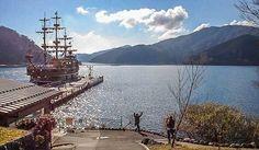 Visão poética e inspiradora do Lago Ashi no Japão. Um tour bate e volta para fazer a partir de Tóquio. Saiba mais no blog. Foto: Adriana Lage