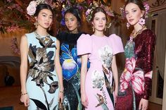 Backstage  Dolce and Stefano Gabbana took over the stage of La Scala Milan for a show about the heritage of Italian couture and Sicily their home town in Dolce & Gabbanas Alta Moda Spring 2016 presentation.