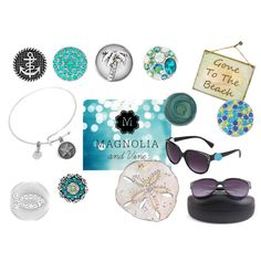Magnolia and Vine Jewelry.  Beach accessories! by suzyquf on Polyvore