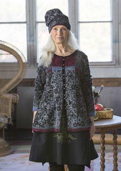 Gerecyclede wol met mooie dessins–Gudrun Sjödén – Zweeds design met een groen hart / online