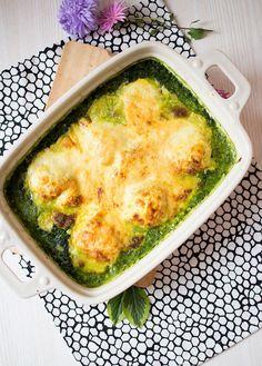 Low Carb Curryhähnchen auf Spinatbett | Low Carb Köstlichkeiten