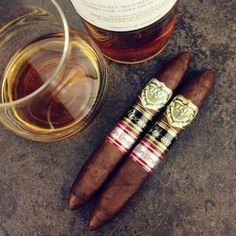 Cigars & Scotch 'neat'....