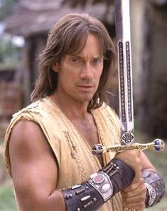 Kevin Sorbo as Hercules in The Legendary Journeys