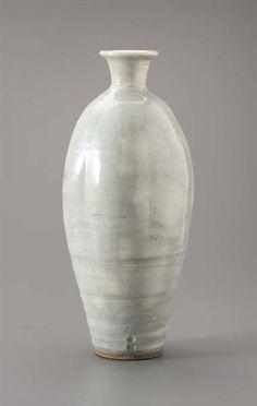 Bernard Leach, A large vase, glazed stoneware, 45.5 cm. (17.9 in)
