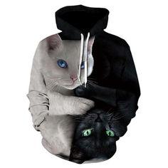 pantalon Sport Costume Fashion Funny Animal Fox 3D Imprimer Femmes//Hommes Sweat Capuche Sweat-shirt