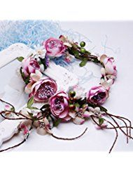 Valdler Vintage Natural Adjustable Berries Vines Flower... * This is an Amazon Affiliate link. Check out the image by visiting the link.
