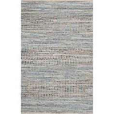 Safavieh Cape Cod Natural and Blue Area Rug; 9' x 12'